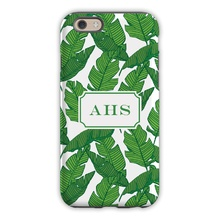 Tough Cell Phone Case - Banana Leaf