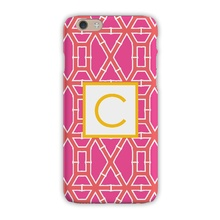 Tough Cell Phone Case - Bamboo Pink