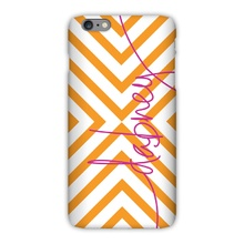 Tough Cell Phone Case - Chevron